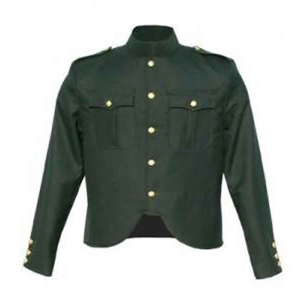 Gabardine Police Jacket Rifle Green