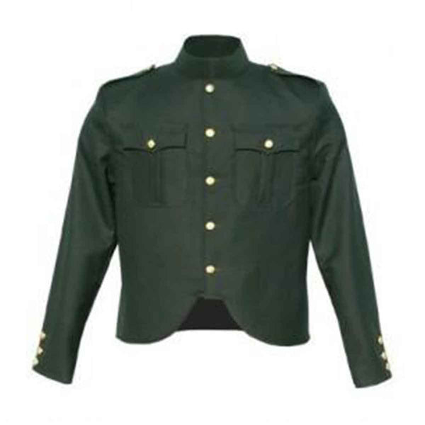 Gabardine Police Jacket Rifle Green - House Of Scotland