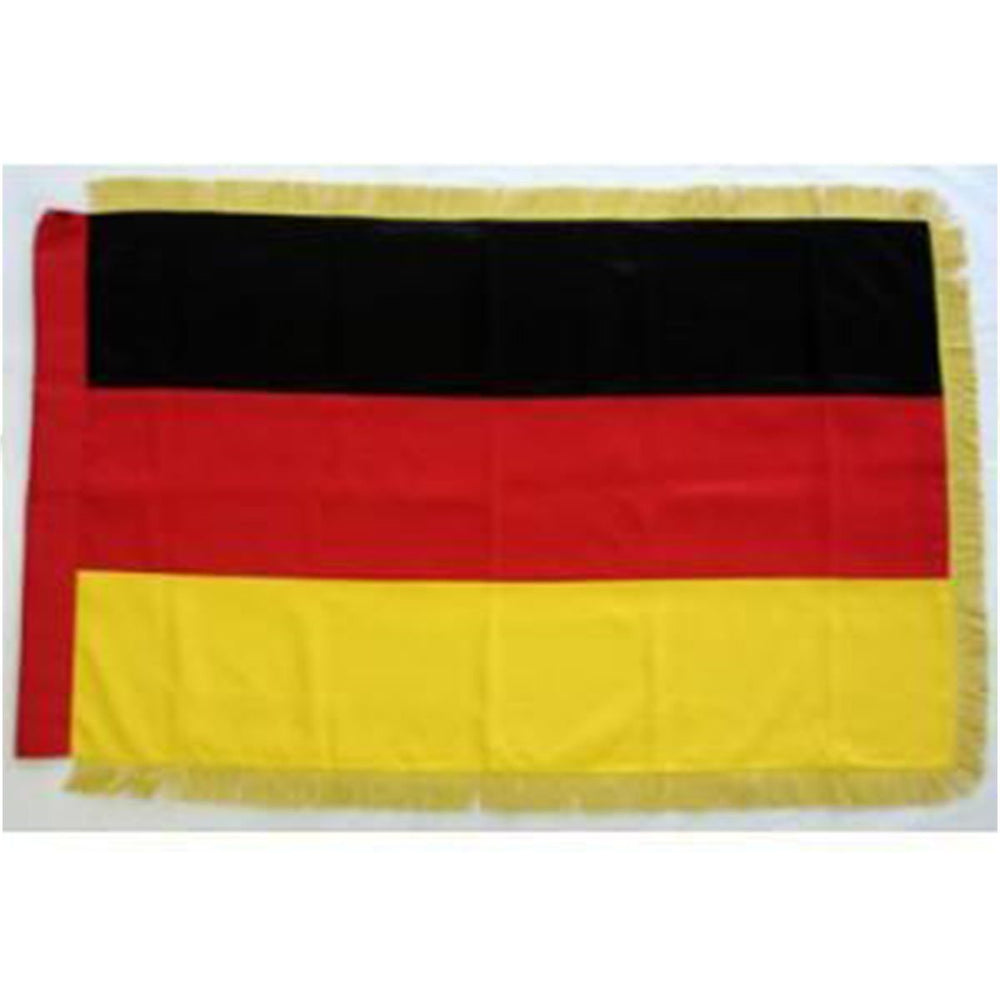 Germany Full Size Double Sided Hand Embroidered Flag