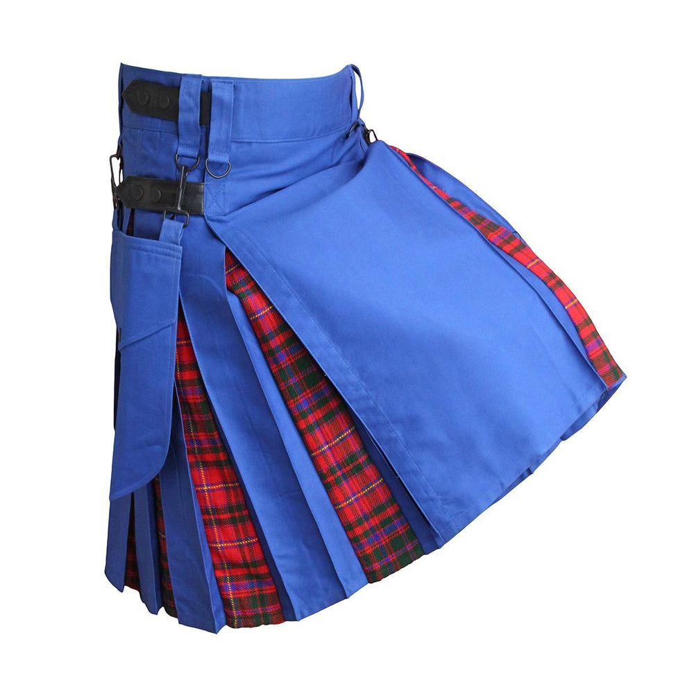 house-of-scotland-heavy-cotton-hybrid-kilt-royal-blue-color-with-macdougall-tartan