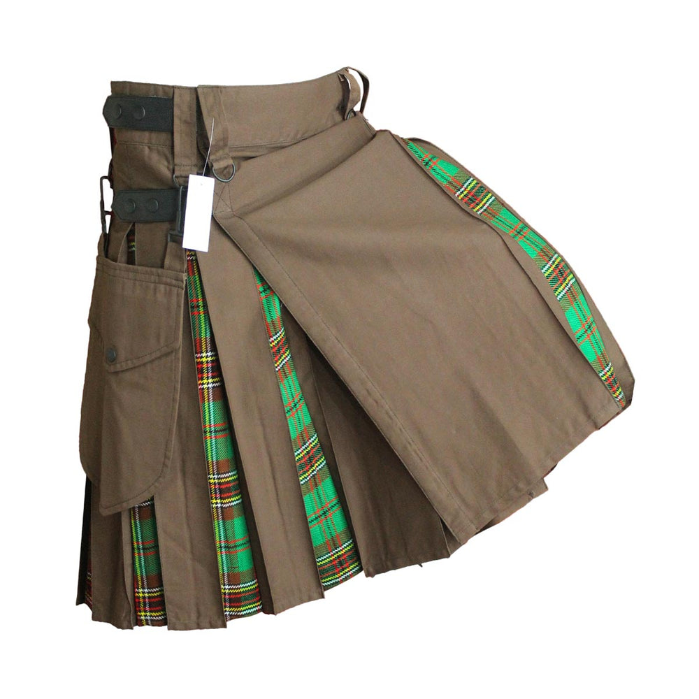 house-of-scotland-heavy-cotton-hybrid-kilt-with-tara-murphy-tartan-pose