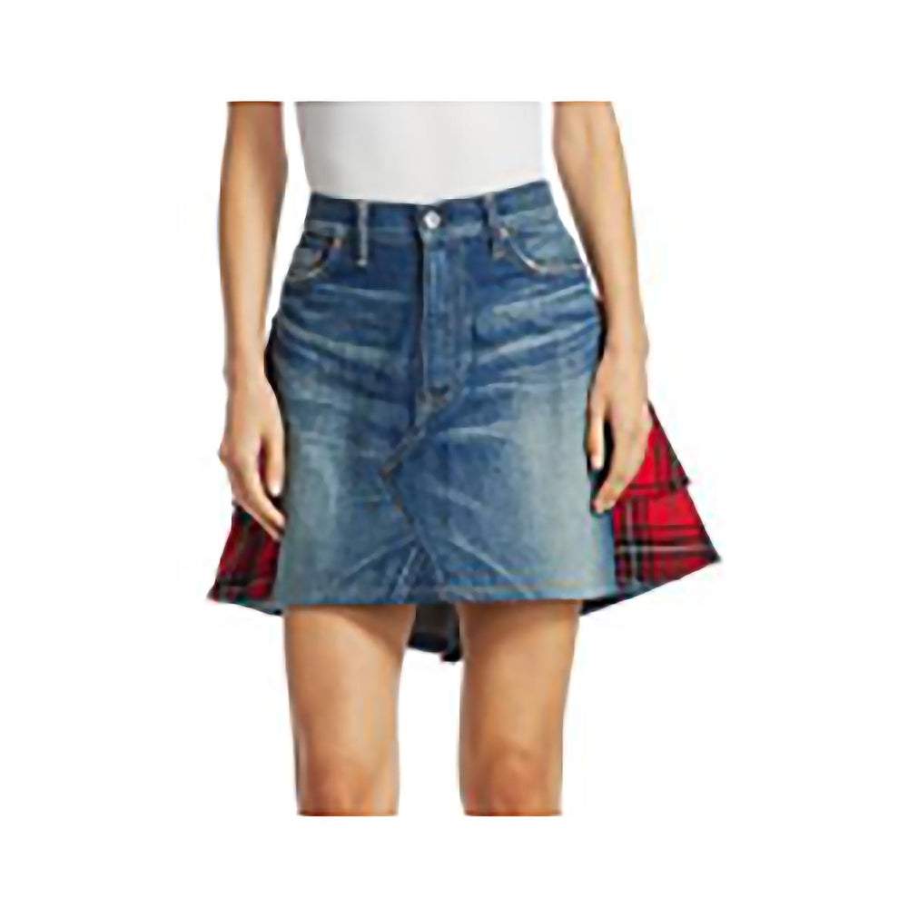 house-of-scotland-ladies-denim-and-tartan-kilt-or-skirt-with-tartan