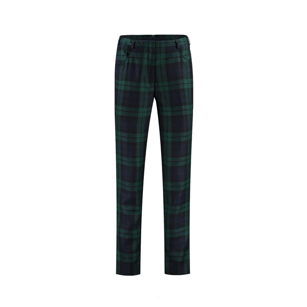 Ladies Tartan Trouser