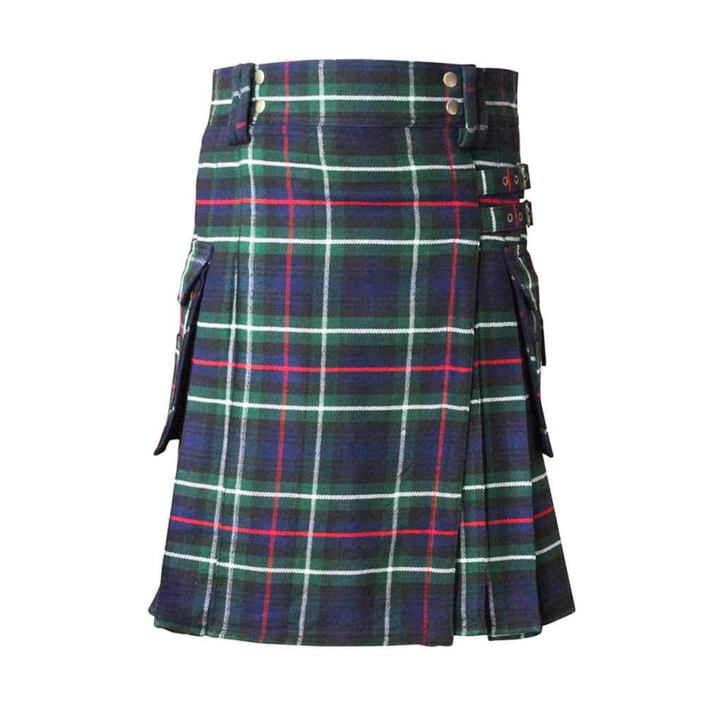 Tartan Contemporary Kilt Buckle Straps