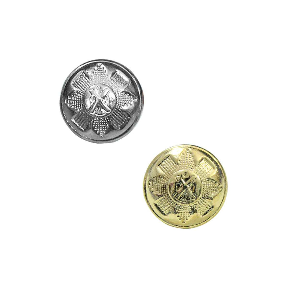 Saint Andrew's Uniform Buttons 12 Pieces