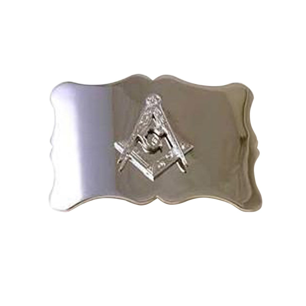 Plain Masonic Badge Buckle