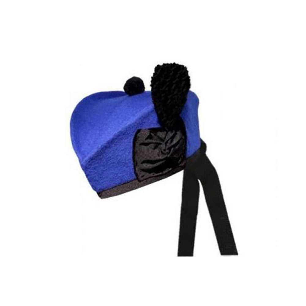 Plain Royal Blue Glengarry