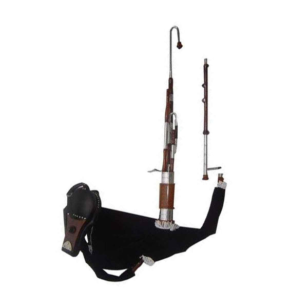 Rosewood Uilleann Bagpipe Half set - House Of Scotland
