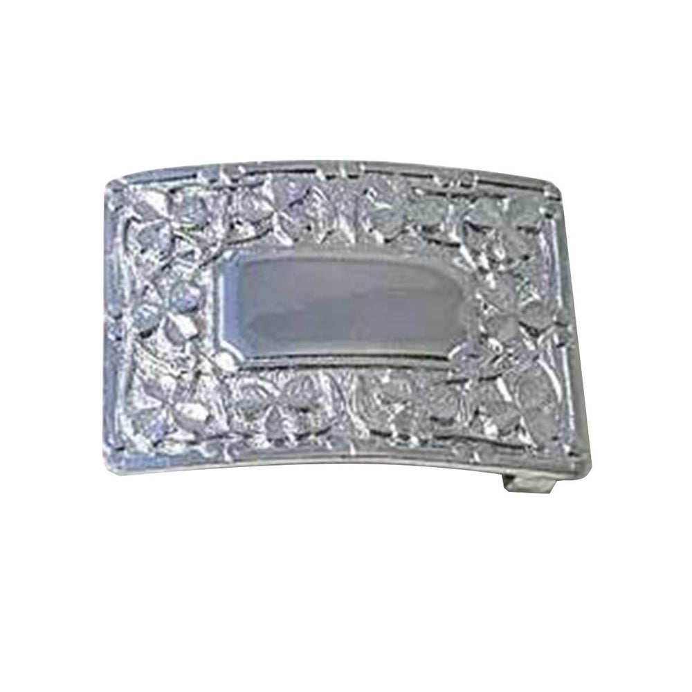 Shamrock Cast Waist Belt Buckle