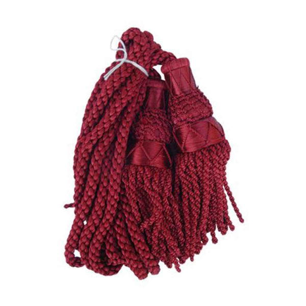 Bagpipe Cords Maroon Silk - House Of Scotland