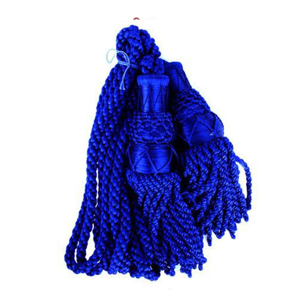 Bagpipe Cords Royal Blue Silk