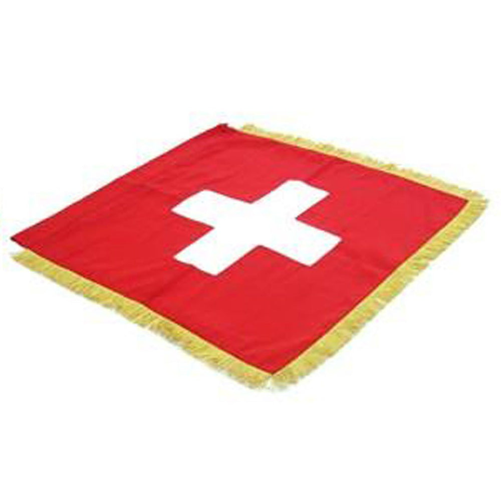 Switzerland Full Size Double Sided Hand Embroidered Flag