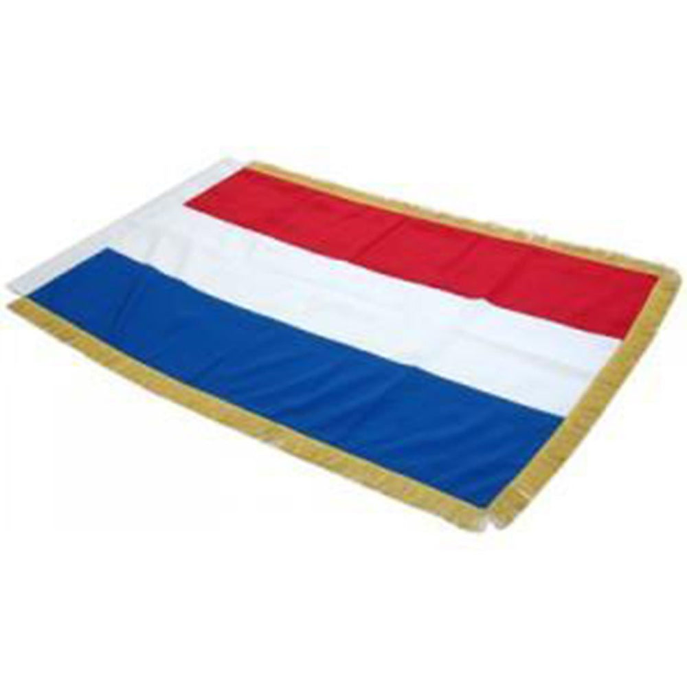 The Netherlands Full Size Double Sided Hand Embroidered Flag