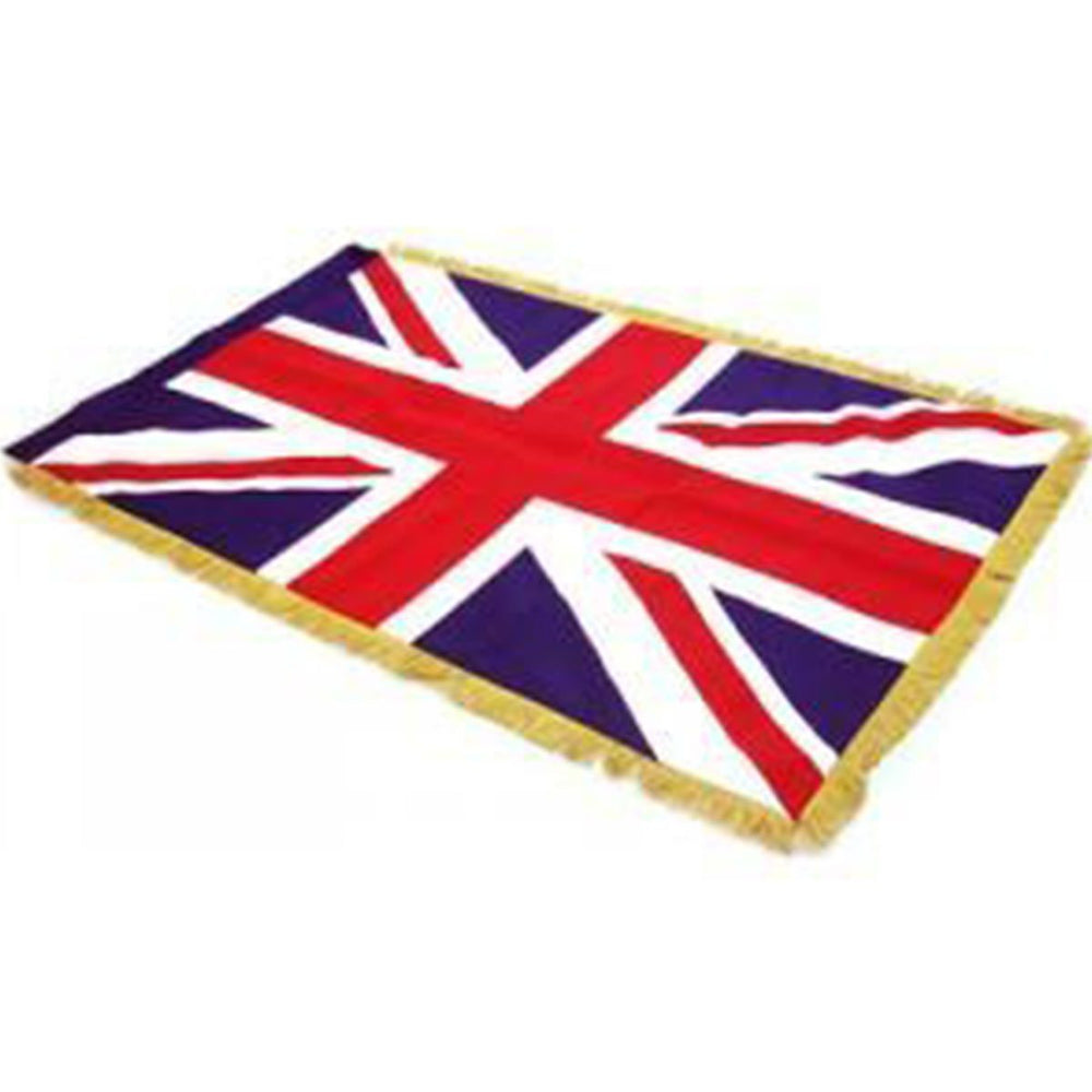 United Kingdom Full Size Double Sided Hand Embroidered Flag