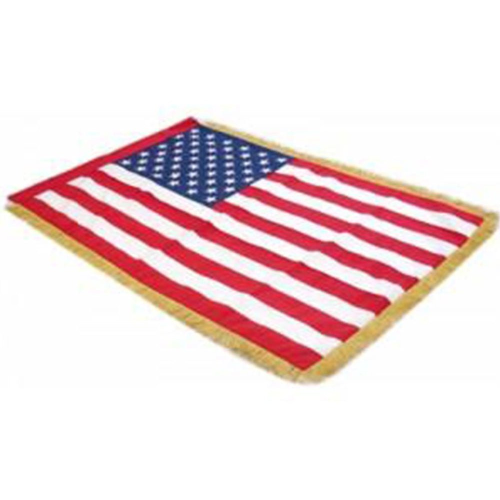 United States Full Size Double Sided Hand Embroidered Flag