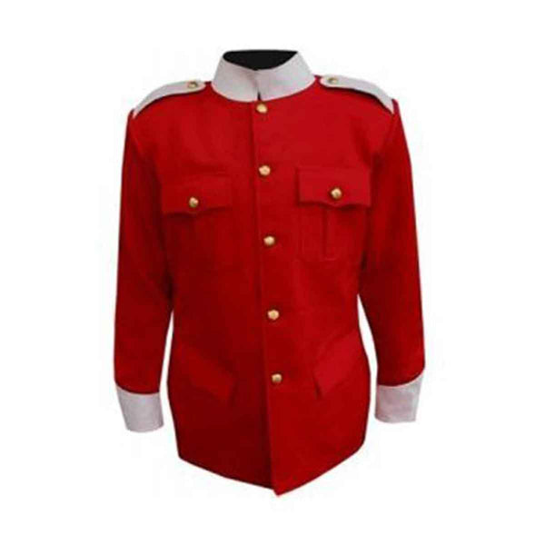 Military Tunic Red color body - House Of Scotland