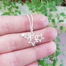 Load image into Gallery viewer, Star Galaxy Pendant on Chain