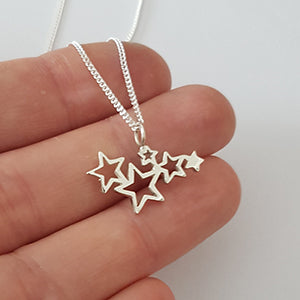 Star Galaxy Pendant on Chain
