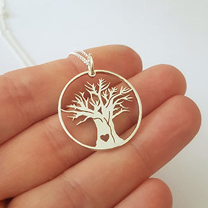 African Tree of Life Pendant on Chain