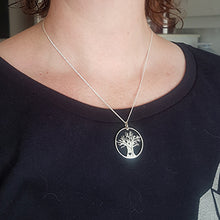 Load image into Gallery viewer, African Tree of Life Pendant on Chain