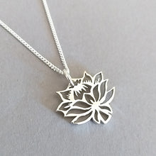 Load image into Gallery viewer, Protea Inspired Pendant on Chain
