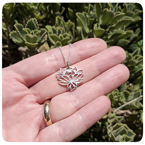 Protea Inspired Pendant on Chain