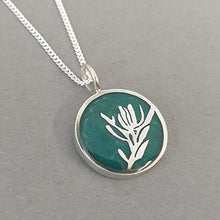 Load image into Gallery viewer, Fynbos Sterling Silver Resin Pendant