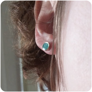 Tiny Shape Resin Stud Earrings
