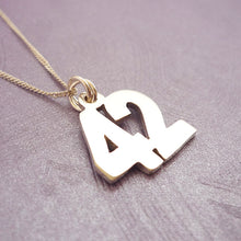 Load image into Gallery viewer, The Answer to Life, the Universe and Everything Handmade Pendant