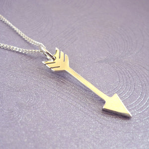 Sterling Silver Arrow Handmade Pendant