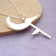 Load image into Gallery viewer, Buffy's Hunga Munga - Handmade Pendant in sterling silver