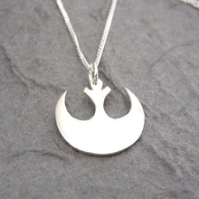 Load image into Gallery viewer, Handmade Rebel Pendant - sterling silver