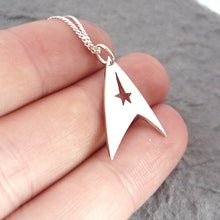 Load image into Gallery viewer, Trek Sterling Silver Handmade Pendant