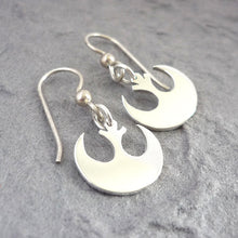 Load image into Gallery viewer, Sterling Silver Rebel Handmade Earrings