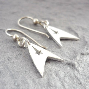 Sterling Silver Trek Earrings