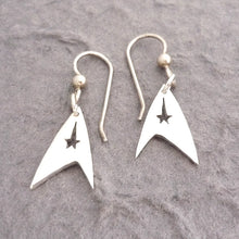 Load image into Gallery viewer, Sterling Silver Trek Earrings