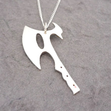 Load image into Gallery viewer, River's Reaver Blade Sterling Silver Handmade Pendant