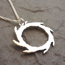 Load image into Gallery viewer, Circle of the Black Thorn Pendant