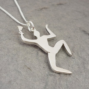 The Fool from Cabin in the Woods Handmade Sterling Silver Pendant