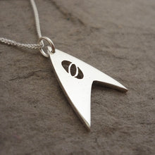 Load image into Gallery viewer, Trek Science Sterling Silver Handmade Pendant