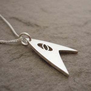 Trek Science Sterling Silver Handmade Pendant