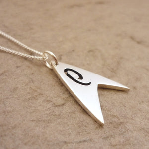 Trek Engineering Sterling Silver Pendant on chain