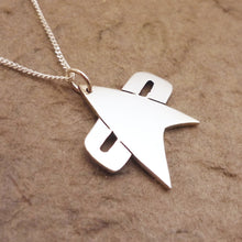 Load image into Gallery viewer, Trek V Sterling Silver Pendant on Chain