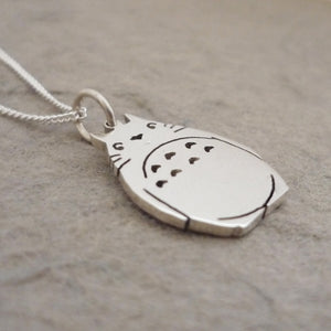 Teeny Tiny Favourite Neighbour Sterling Silver Handmade Pendant on Chain