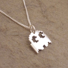 Load image into Gallery viewer, Teeny Tiny Ghostie Pendant on Chain