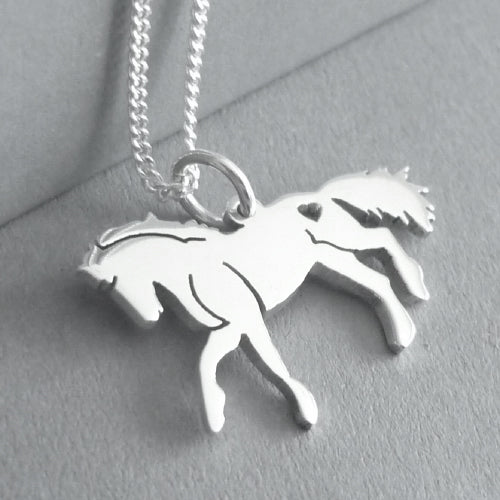 Horse Pendant on chain