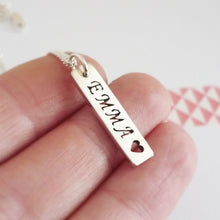 Load image into Gallery viewer, Custom Sterling Silver Name Charm