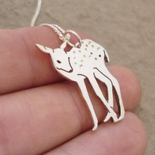 Load image into Gallery viewer, Deer Pendant on Chain