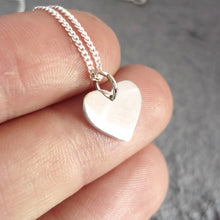 Load image into Gallery viewer, Tiny Heart Pendant on Chain