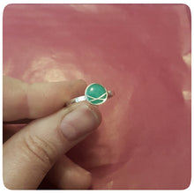 Load image into Gallery viewer, Circle Crossover Resin Ring